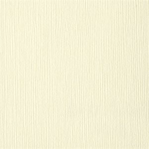 "Bazzill Fourz Cardstock 12""X12"" French Vanilla / Grass Cloth"