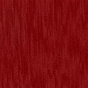 "Bazzill Fourz Cardstock 12""X12"" Ruby Slipper / Grass Cloth"
